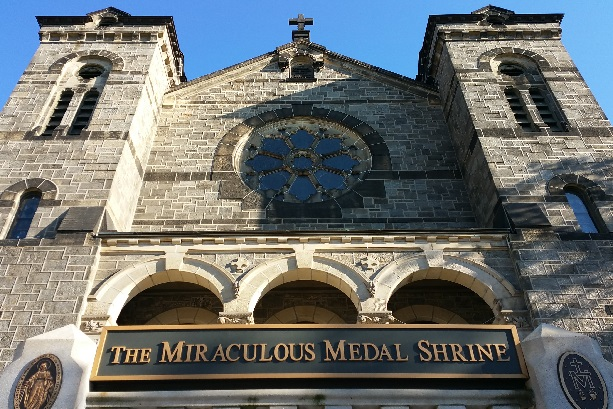 Photo of the Shrine of the Miraculous Medal, Philadelphia PA